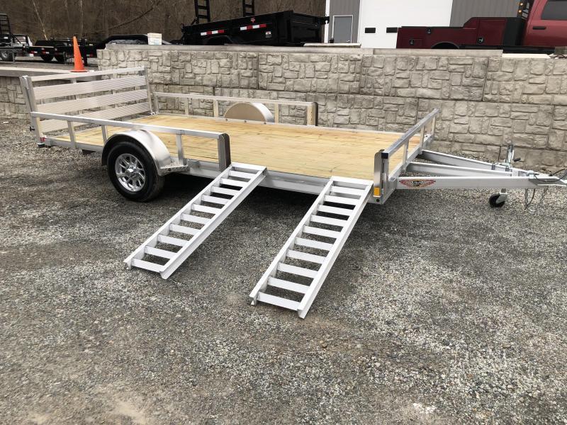 H&H 8.5x14 Aluminum ATV Trailer (RSA)