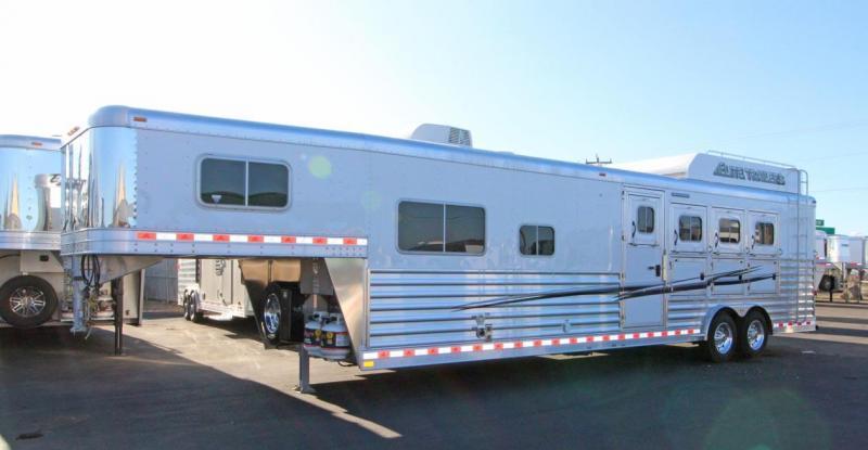 2018 Elite Trailers Custom w/Trail Boss Conversions Living Quarter
