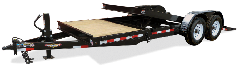 2019 H&H Trailers 8.5x18+4 Gravity Tilt With 4' Stationary Deck