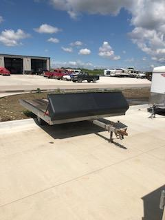 "2002 Used  96""x10'  2 Place Snowmobile Trailer"