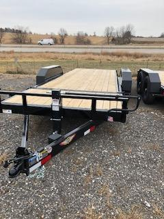 2019 H and H Trailers 8.5x16+6 Gravity Tilt With 6' Stationary Deck