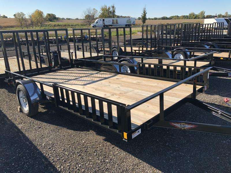 2019 H&H Trailers 82X14 ATV 3.5k Single Axle