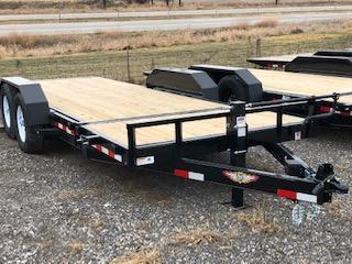 2019 H&H Trailers 8.5x16+4 Gravity Tilt With 4' Stationary Deck