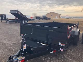 "2019 H and H Trailers 83""x14' DBW Dump Box Tandem Axle"