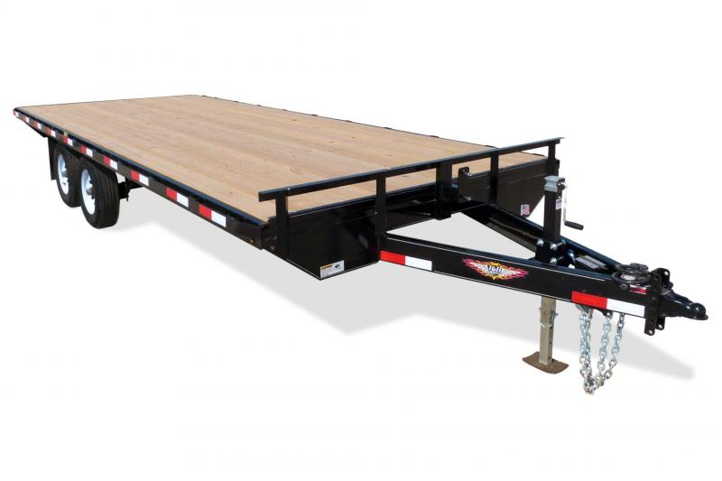 2020 H and H 102x18 Deckover Equipment Trailer