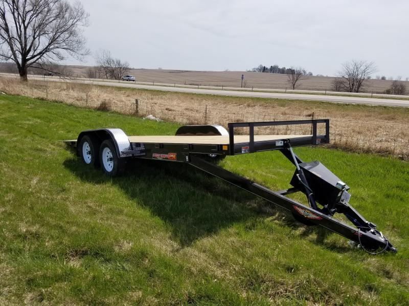 "2020 H and H Trailers 82""X20' EX Speedloader Electric Tandem Tiltbed"