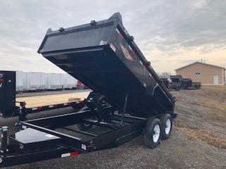 "2020 H and H Trailers 83""x14' DBW Dump Box Tandem Axle"