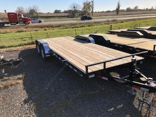 2019 H and H Trailers 8.5x16+2 General Duty Flatbed 7k Tandem Axles