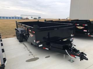 2019 H&H Trailers 83x16 DBW Dump Box 7k Tandem Axle Trailer