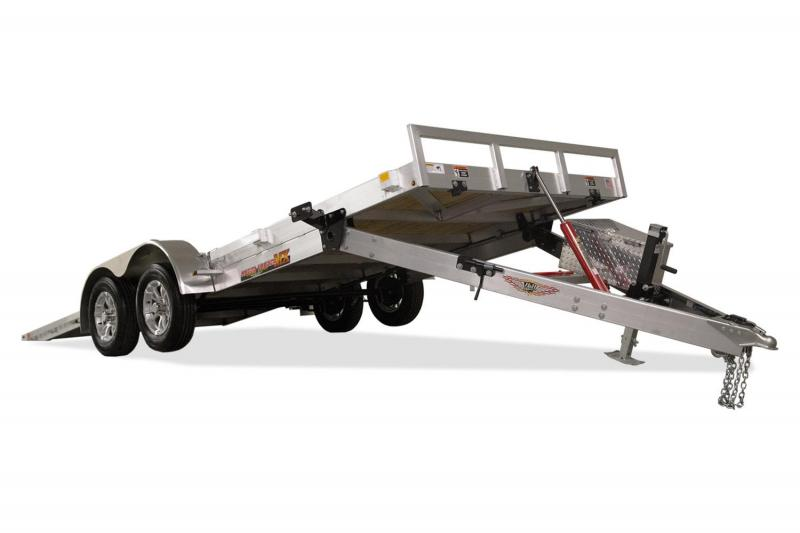 "2019 H&H Trailers 82""X20' Aluminum MX Speedloader Manual Tandem Tiltbed"