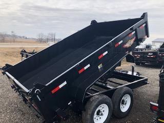 2020 H and H Trailers 83X12 Dbw Dump Box 7k Tandem Axle Trailer