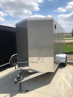 2019 Legend All Aluminum 6'X12' + 1' V-Nose Enclosed Cargo Trailer