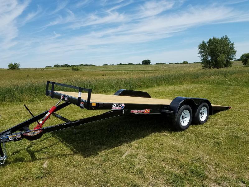 2019 H and H 82X20 MX Speedloader 3.5k Tandem Axle Equipment Trailer