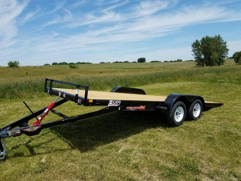 2019 H&H Trailers 8.5x20 MX Speedloader Manual Tandem Tiltbed