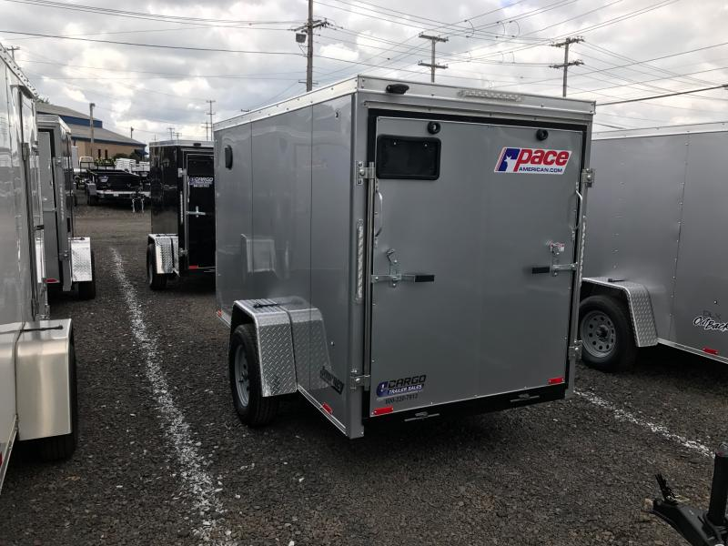 2018 Pace American JV6X12S10 Enclosed Cargo Trailer