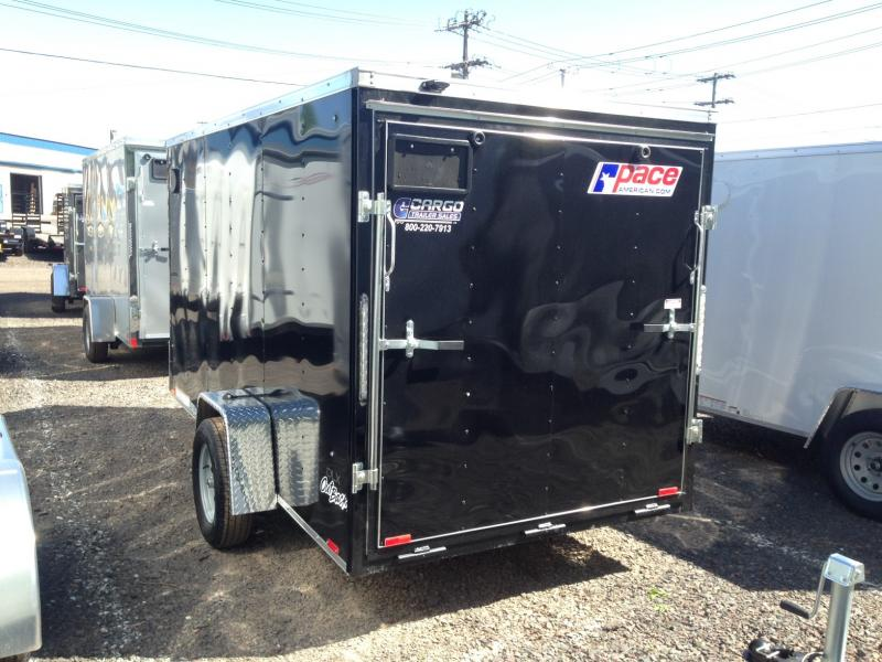 2017 Pace American OB 6X12 Enclosed Cargo Trailer