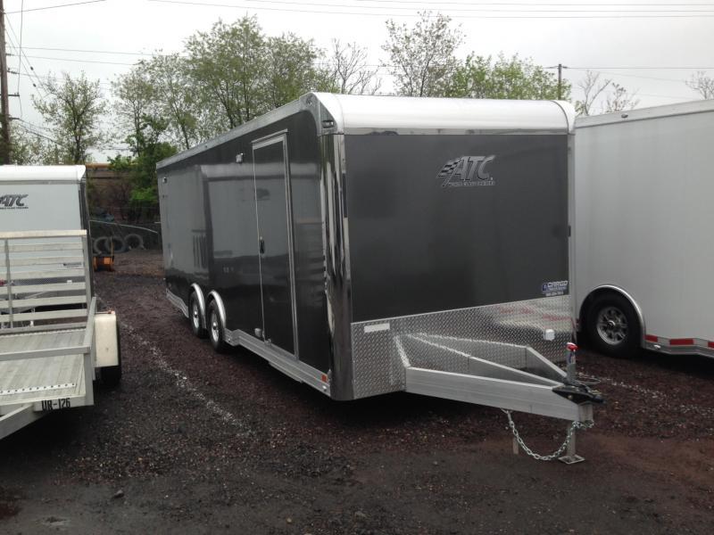 2017 Aluminum Trailer Company QSTAB8524+0-2T5.2K Enclosed Cargo Trailer