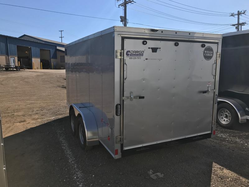 2018 Wells Cargo FT7142 Enclosed Cargo Trailer
