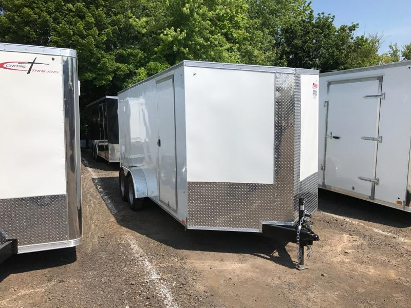 2017 Pace American JV7X16 Enclosed Cargo Trailer
