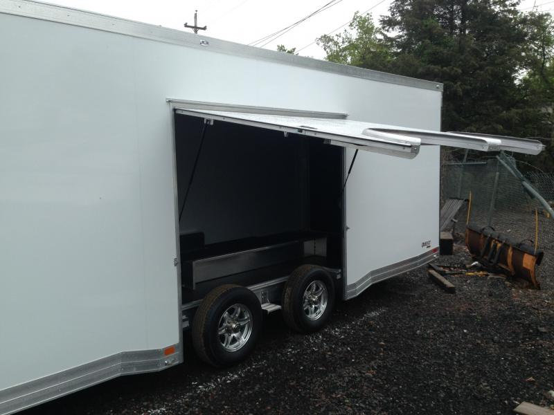2017 Aluminum Trailer Company QSTAB8528+0-2T5.2K Enclosed Cargo Trailer