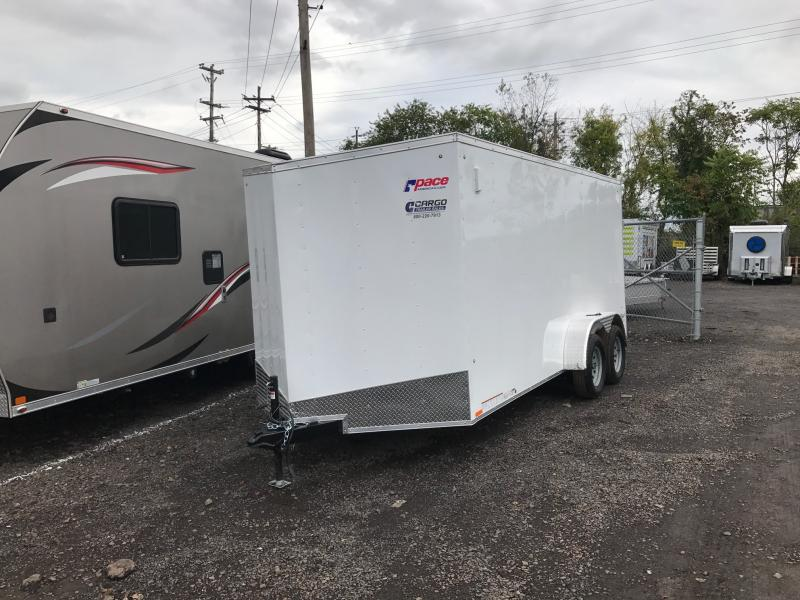 2018 Pace American OB 7x16 Enclosed Cargo Trailer