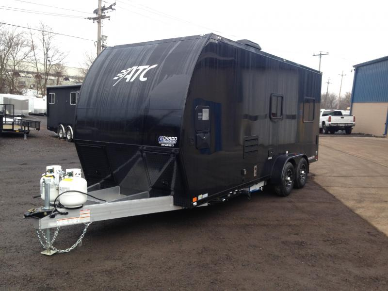 2017 ATC 7x20 All Aluminum Toy Hauler