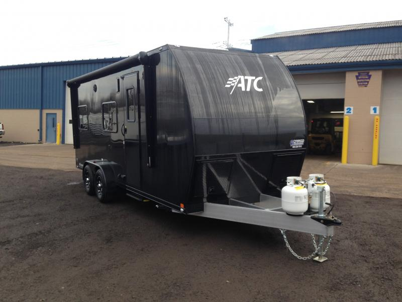 2017 ATC 7x20 All Aluminum Toy Hauler