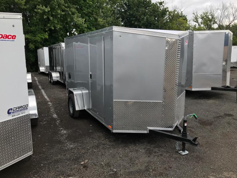 2018 Pace American JT6X12S12 Enclosed Cargo Trailer