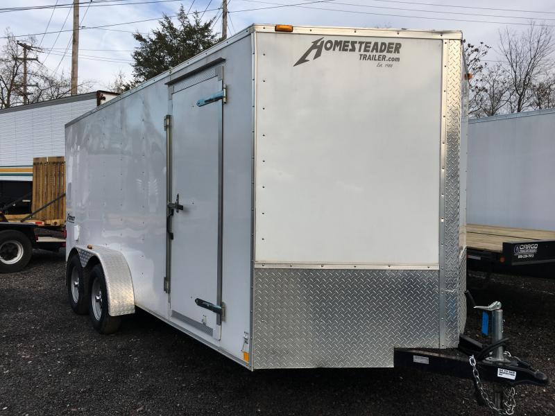 2012 Homesteader  Enclosed Cargo Trailer