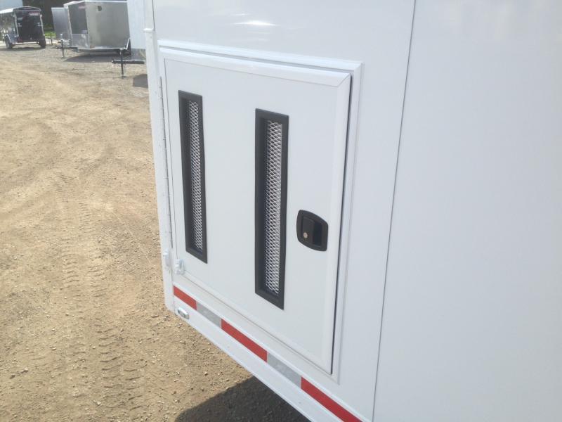 2017 Aluminum Trailer Company QSTAB8526+0-3T6.0K Enclosed Cargo Trailer
