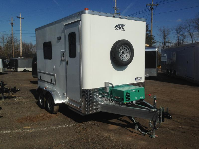 2017 Aluminum Trailer Company QSTAB7012+0-2T3.5K Enclosed Cargo Trailer