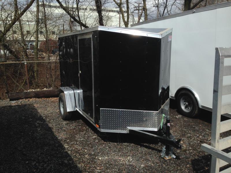 2017 Pace American OB5X10S12DLX Enclosed Cargo Trailer