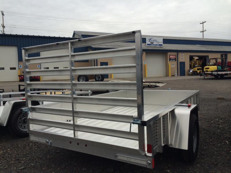 2017 Aluminum Trailer Company OUTAB6012 Flatbed Trailer