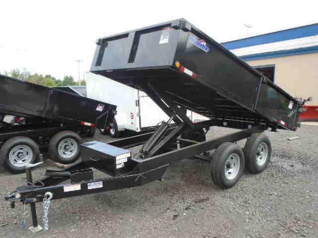 2017 Tow Rite Mfg. Company DOT612HEC Dump