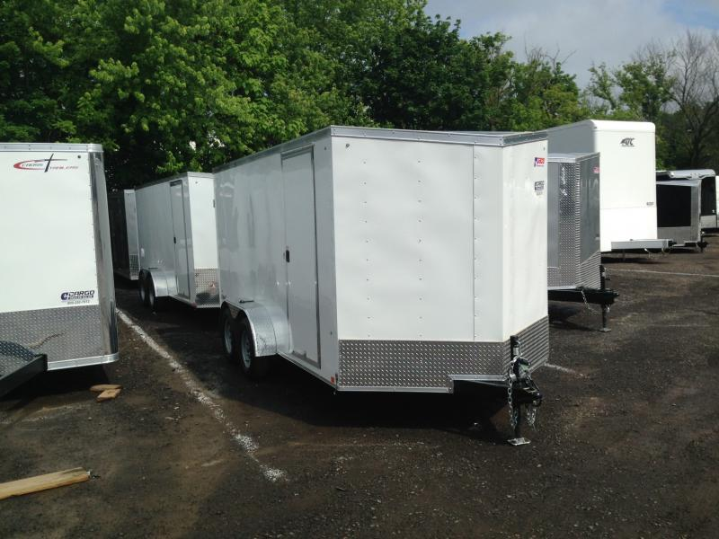 2018 Pace American OB 714 Enclosed Cargo Trailer