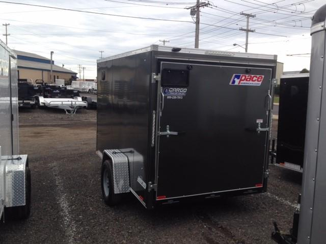 2017 Pace American JV6X10 Enclosed Cargo Trailer