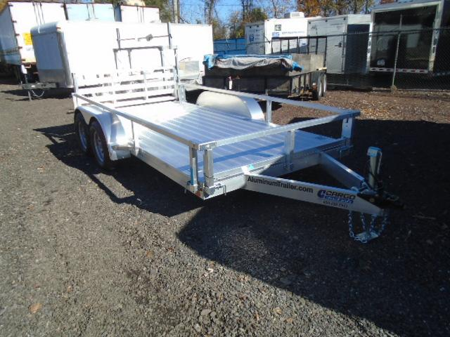 2017 Aluminum Trailer Company OUTAB7016+0-2T3.5K Flatbed Trailer