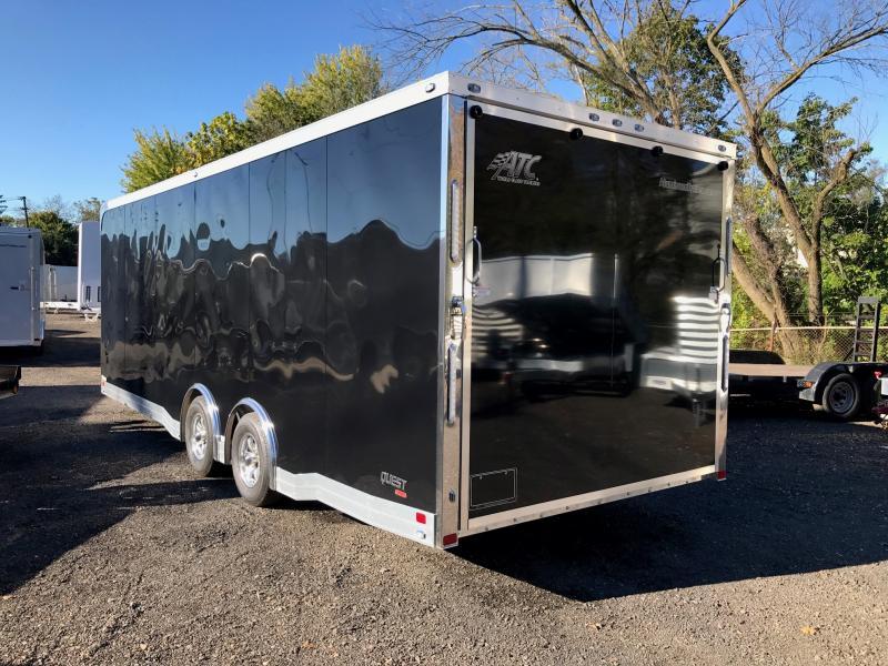 2018 Aluminum Trailer Company QSTAB8524+0-2T5.2K Enclosed Cargo Trailer