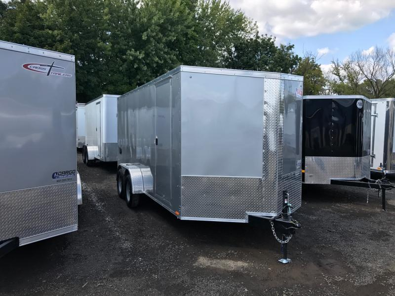 2017 Pace American JV 714 TE2 Enclosed Cargo Trailer