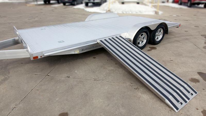 2018 Aluminum Trailer Company OCHAB8520+0-2T3.5K Flatbed Trailer