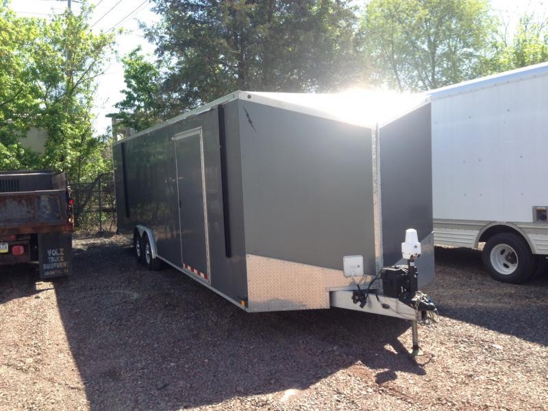 2012 LIGHTNING 28T/A Enclosed Cargo Trailer