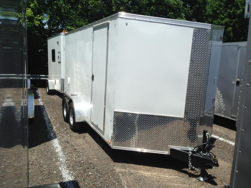 2018 Pace American JV7x14TE2 Enclosed Cargo Trailer