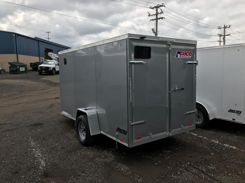 2018 Pace American JT6X10 Enclosed Cargo Trailer