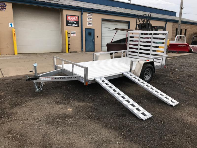 2018 Aluminum Trailer Company OUTAB7014+0-2T3.5K Flatbed Trailer