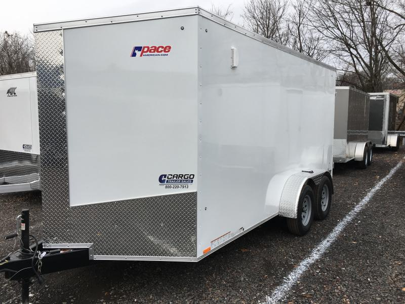 2018 Pace American JV 7X14 TE2 Enclosed Cargo Trailer