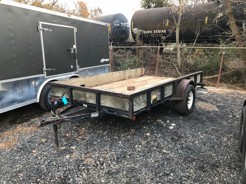 1997 Jackson Manufacturing Inc. 6x12 Utility Trailer