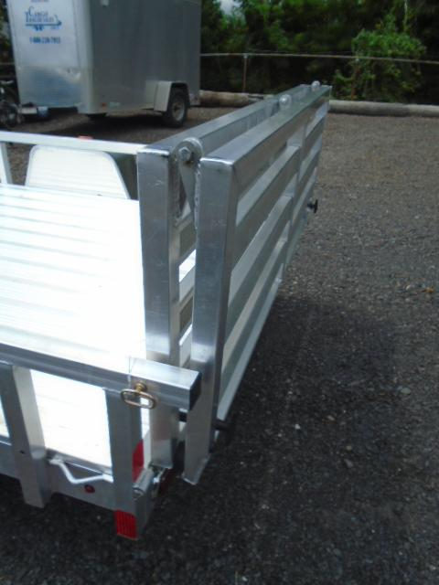 2016 Aluminum Trailer Company OUTAB6012 Flatbed Trailer