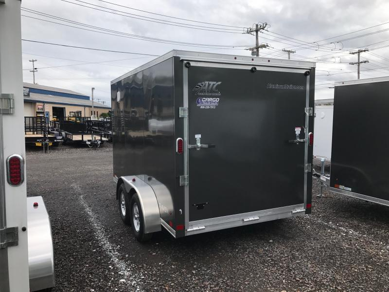 2018 Aluminum Trailer Company RAVAB7012+2-2S3.5k Enclosed Cargo Trailer