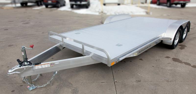 2017 Aluminum Trailer Company OCHAB8520+0-2T3.5K Flatbed Trailer