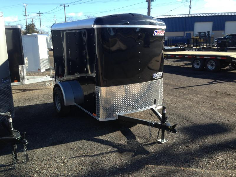 2017 Pace American JT 5X8 S12 Enclosed Cargo Trailer